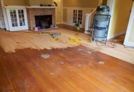 Fir floor refinish in process - 2015-04-20 at 10-27-33