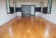 Local Landmark, Alba Schoolhouse fir flooring, after - 2010-12-28 at 12-47-51