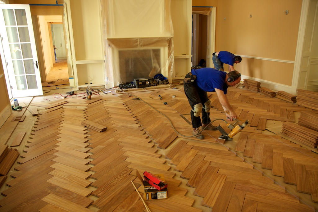 Herringbone | Russell Hardwood Floors